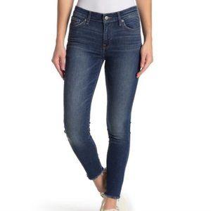 Lucky Brand Ava Raw Hem Skinny Jeans, Blue - 6/28
